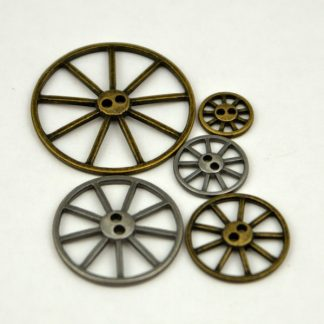 Metal Wheel Buttons