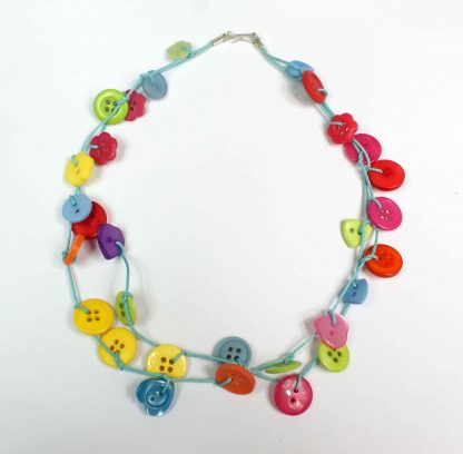 Button Dangles Necklace Kit
