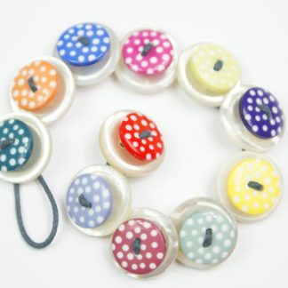Spotty Button Bracelet